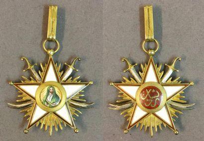 Iran - Ordre de Zolfaghar, fondé en 1925,...