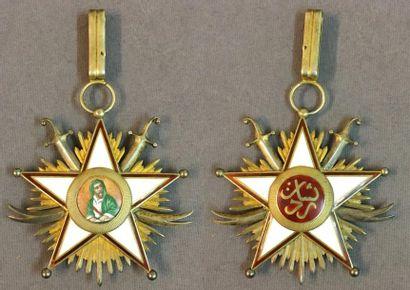 Iran - Ordre de Zolfaghar, bijou de commandeur...