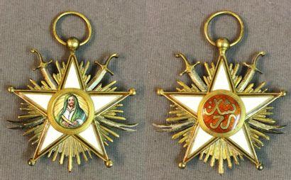 Iran - Ordre de Zolfaghar, étoile de chevalier...