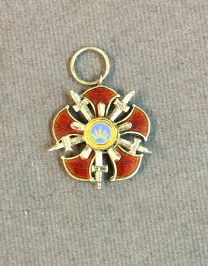 Iran - Ordre de Sepah, miniature d'un bijou...