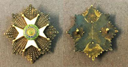 Allemagne, duchés de Saxe - Ordre de la Maison...
