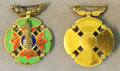 Iran - Décoration militaire du Mérite artistique,...