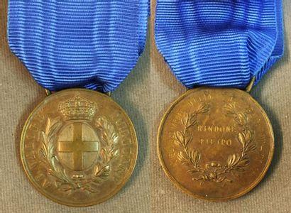 Italie - Médaille de la Valeur Militaire...