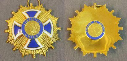 Amérique du Sud - Ordre du Mérite «Simon...