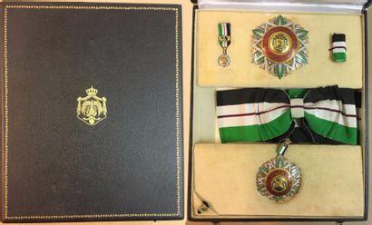 Jordanie - Ordre de la Renaissance, fondé...