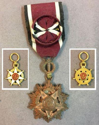 Jordanie - Ordre du Mérite Militaire du Roi...