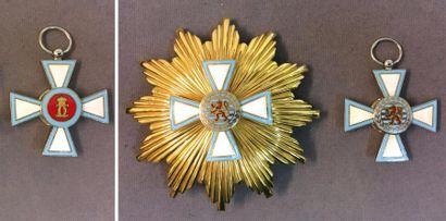 Luxembourg - Ordre du Mérite, fondé en 1961,...