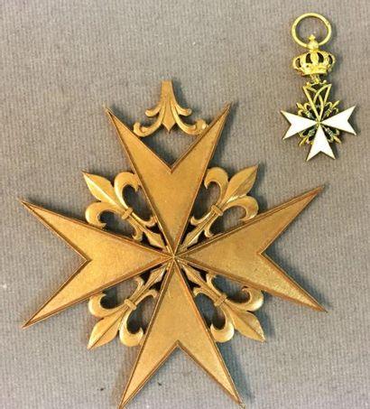 Ordre de Malte, croix de Donat, réduction...