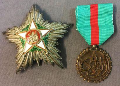 Maroc - Ordre du Ouissam Alaouite, fondé...