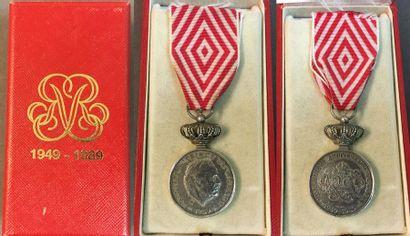 Monaco - Médaille commémorative des 40 ans...