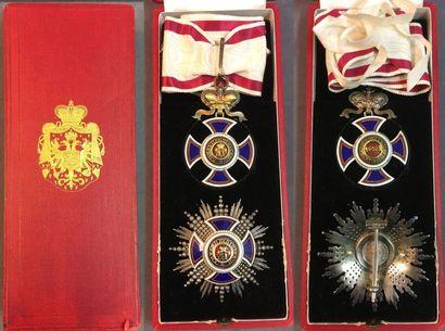 Monténégro - Ordre de Danilo, fondé en 1853,...