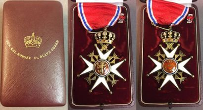 Norvège - Ordre de Saint-Olaf, fondé en 1847,...