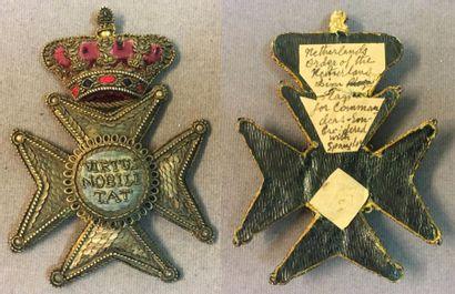 Pays-Bas - Ordre du Lion néerlandais, fondé...