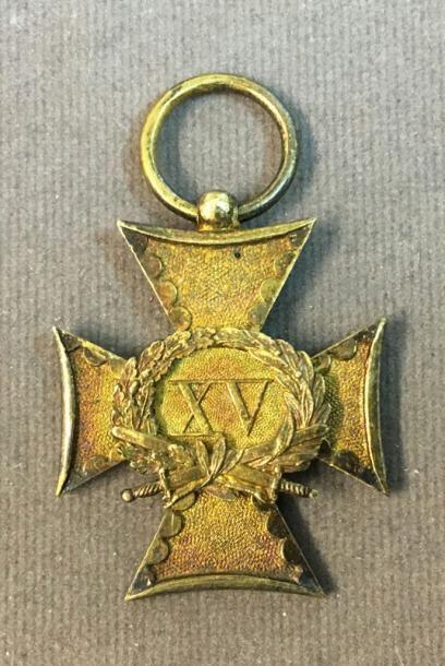 Pays-Bas - Croix d'ancienneté pour XV ans...