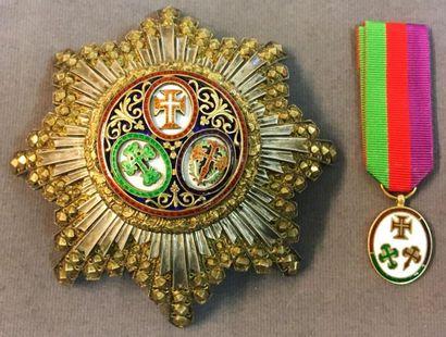 Portugal - Ordre des Trois Ordres, fondé...