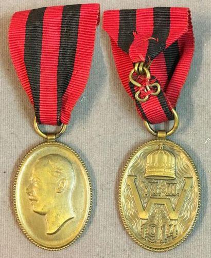 Albanie - Médaille de l'intronisation du Prince Guillaume de Wied, par Gurschner...