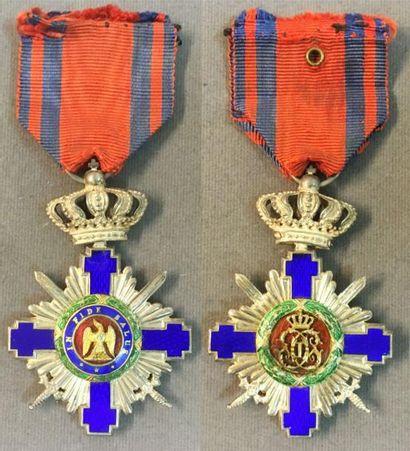 Roumanie - Ordre de l'Étoile, fondé en 1877,...