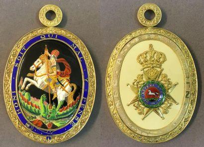 Royaume-Uni - Ordre de la Jarretière, fondé...
