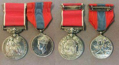 Royaume-Uni - Groupe de deux: Médaille de...