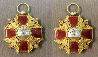 Russie - Ordre de Saint-Alexandre Nevski,...