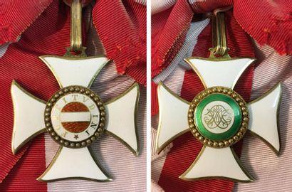 Autriche-Hongrie - Ordre Militaire de Marie-Thérèse, fondé en 1757, bijou de grand-croix...