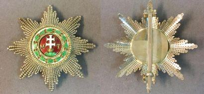 Autriche-Hongrie - Ordre de Saint-Étienne,...