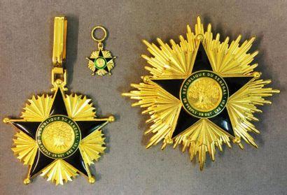 Sénégal - Ordre du Mérite, fondé en 1960,...