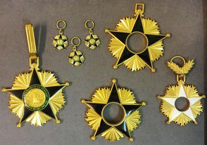 Sénégal - Ordre du Mérite, bijou de commandeur...