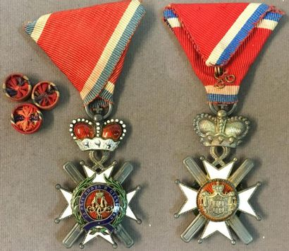 Serbie - Ordre de la Croix de Takovo, fondé...