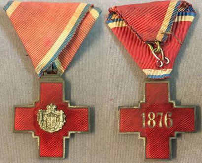 Serbie - Décoration de la Croix-Rouge pour...