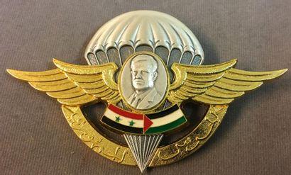 Syrie - Garde Républicaine, brevet parachutiste...