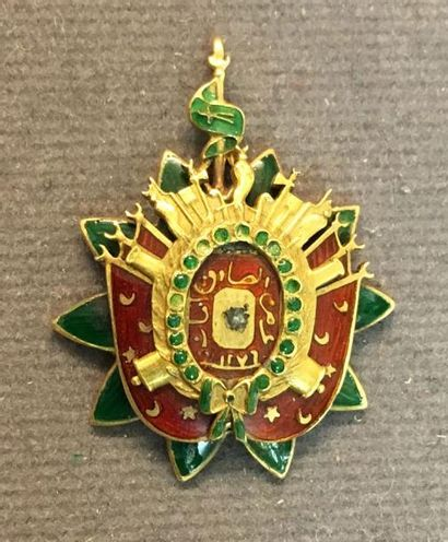 Tunisie - Ordre du Nichan al-Ahd al-Aman,...