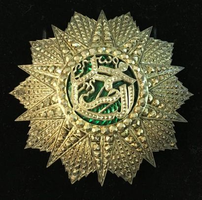 Tunisie - Ordre du Nichan al Iftikhar, règne de Mohamed el Naceur Bey (1906-1922),...