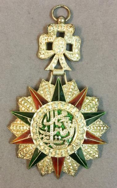 Tunisie - Ordre du Nichan al Iftikhar, règne...
