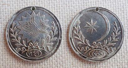 Turquie - Médaille du traité de paix russo-turque...