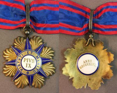 Vatican - Ordre de Pie IX, bijou de commandeur...