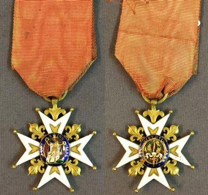 Ordre de Saint-Louis, fondé en 1693 - Restauration,...