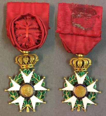 Légion d'honneur - Restauration, étoile d'officier...