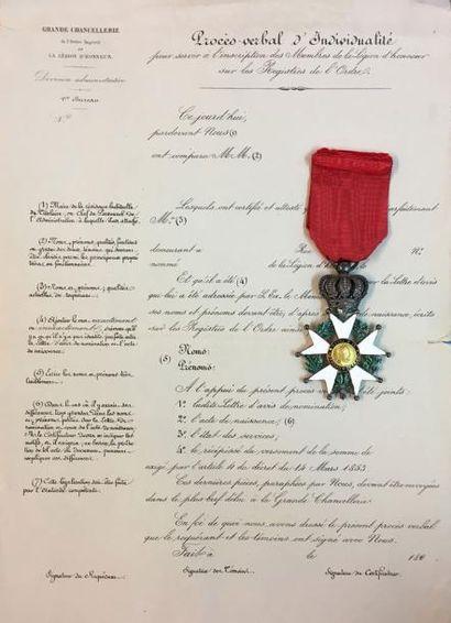 Légion d'honneur - Monarchie de Juillet,...