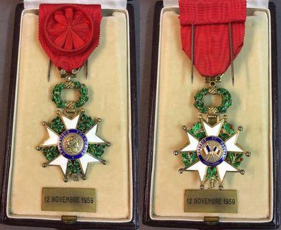 Légion d'honneur - IVe République, étoile...