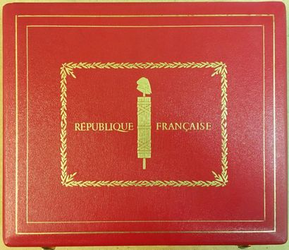 Légion d'honneur - Ve République, important...