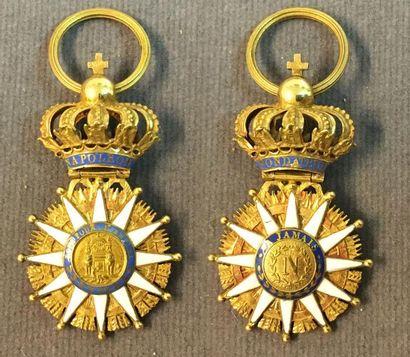 Ordre de la Réunion, fondé en 1811, insigne...
