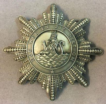 Royaume de Hollande, ordre royal de l'Union,...