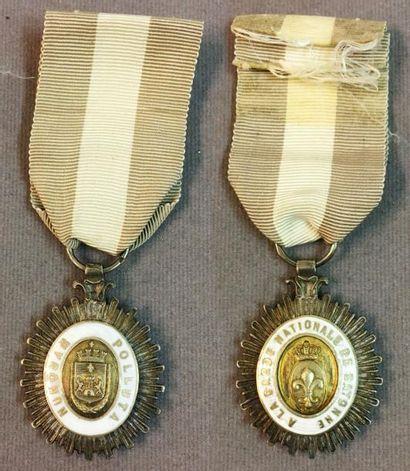Décoration pour la garde nationale de Bayonne,...