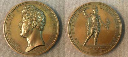 Médaille commémorative de la prise d'Anvers,...