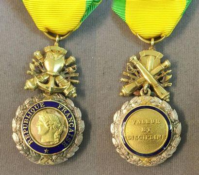 Médaille militaire, IVe République, modèle...