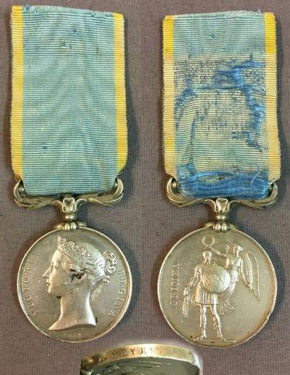 Royaume-Uni - Médaille de Crimée par Wyon...