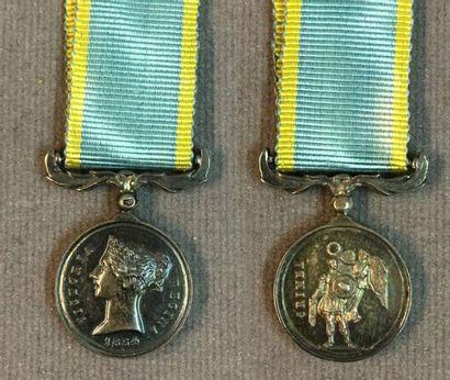 Royaume-Uni - Médaille de Crimée, réduction...