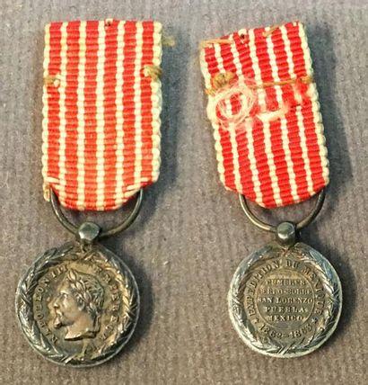 Médaille du Mexique 1862-1867, miniature...