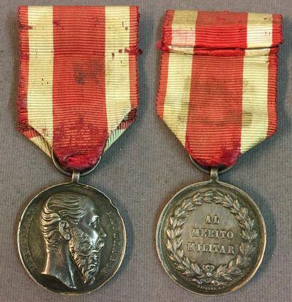 Mexique - Médaille du Mérite Militaire en...